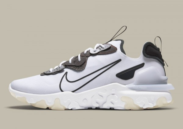 CT3343-100 Nike React Vision 3M Scarpe - Bianche/Anthracite
