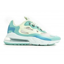 AO4971-301 NIKE AIR MAX 270 REACT Scarpe - Hyper Jade/Frosted Spruce-Barely Volt
