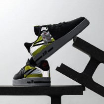 CT3316-003 Nike x 3M Air Force 1 React LX - Anthracite/Nere/Volt/Rosse