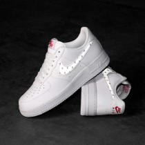 CT2296-100 Nike x 3M Air Force 1 - Bianche/Argento/Anthracite/Rosse