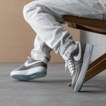 CN0866-002 Nike Air Force 1 '07 *Recycled Canvas* - Grigio/Bianche/Barely Volt