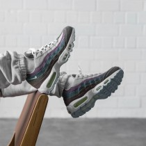 CK6478-001 Nike Air Max 95 *Recycled Canvas* - Grigio/Bianche/Barely Volt