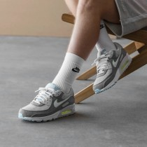 CK6467-001 Nike Air Max 90 NRG *Recycled Canvas* - Grigio/Bianche/Barely Volt