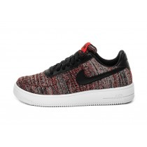 CI0051-600 Nike Air Force 1 Flyknit 2.0 - Rosse/Nere/Grigio/Bianche