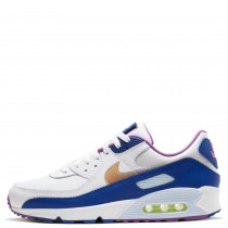 CT3623-100 Nike AIR MAX 90 SE Scarpe - Bianche/Multi-color-Washed Coral