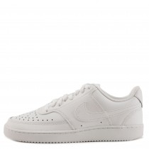 CD5434-100 Nike Donne COURT VISION LOW Scarpe - Bianche/Bianche-Bianche