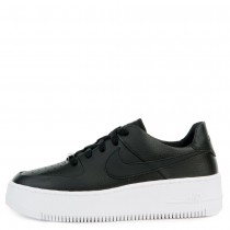 AR5339-002 Nike AIR FORCE 1 SAGE LOW Scarpe - Nere/Nere-Bianche