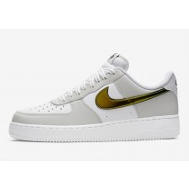 DC9029-100 Nike Air Force 1 Low Scarpe - Bianche/Bianche/Nere/Multicolor
