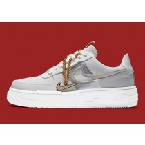 DC1160-100 Nike Air Force 1 Low Pixel - Bianche/Dark Beetroot/Bianche