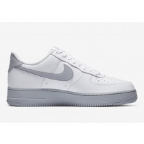 CK7663-104 Nike Air Force 1 Low 07 Scarpe - Bianche/Bianche/Grigio