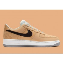 """DC1939-200 Nike Air Force 1 Low """"Manchester Bee"""" - Light British Tan/Marroni-Bianche-Grigio"""