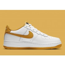 DH2947-100 Nike Air Force 1 Scarpe - Bianche/Gialle