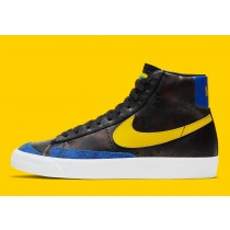"""DC1414-001 Nike Blazer Mid """"Peace, Love, And Basketball"""" - Nere/Gialle-Game Royal-Bianche"""