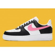 DC4463-100 Nike Air Force 1 Low Scarpe - Bianche/Nere/Starfish/Rosa