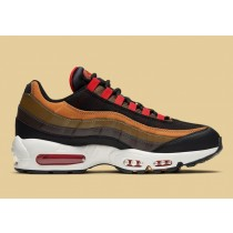 CT1805-200 Nike Air Max 95 Scarpe - Marroni/Flax/Nere/Rosse