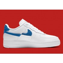DC1164-100 Nike Air Force 1 Vandalized - Bianche/Game Royal/Rosse