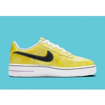 """DC7299-700 Nike Air Force 1 Low GS """"Peace, Love and Basketball"""" - Gialle/Bianche/Nere"""