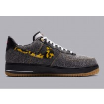 """DB1964-001 Nike Air Force 1 Low """"Remix Pack"""" - Nere/Multi-Color/Bianche/Oro metallizzato"""