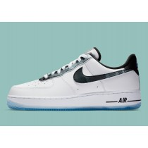 """DB1997-100 Nike Air Force 1 Low """"Remix Pack"""" - Bianche/Nere/Pure Platinum/Argento"""