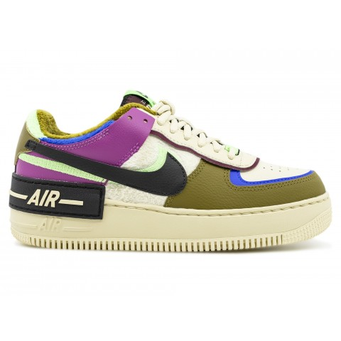 CT1985-500 Nike Donne AIR FORCE 1 SHADOW SE XLD - Cactus Flower/Fossil/Olive