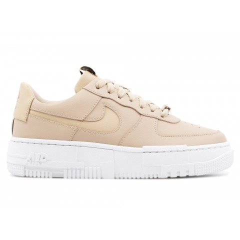 CK6649-200 Donne NIKE AIR FORCE 1 PIXEL Scarpe - Beige/Nere