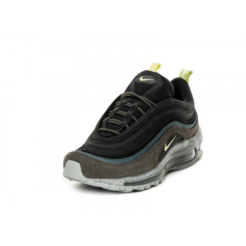 DB4611-001 Nike Air Max 97 Scarpe - Newsprint/Verdi/Limelight/Nere