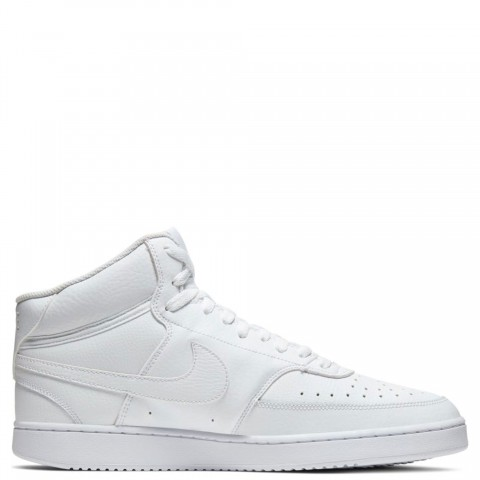 CD5466-100 Nike COURT VISION MID Scarpe - Bianche/Bianche