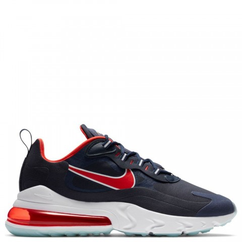 CT1280-400 Nike AIR MAX 270 REACT Scarpe - Navy/Rosse-Obsidian-Bianche