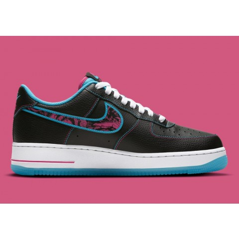 DD9183-001 Nike Air Force 1 Low Scarpe - Nere/Rosa/Bianche
