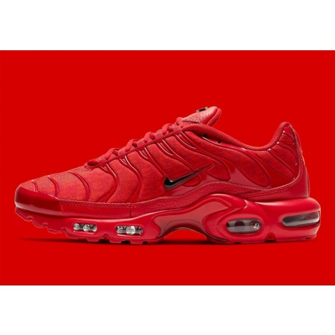 "DD9609-600 Nike Air Max Plus ""Tn"" Scarpe - Rosse/Nere"