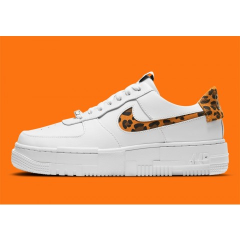 CV8481-100 Nike Air Force 1 Pixel Scarpe - Leopard