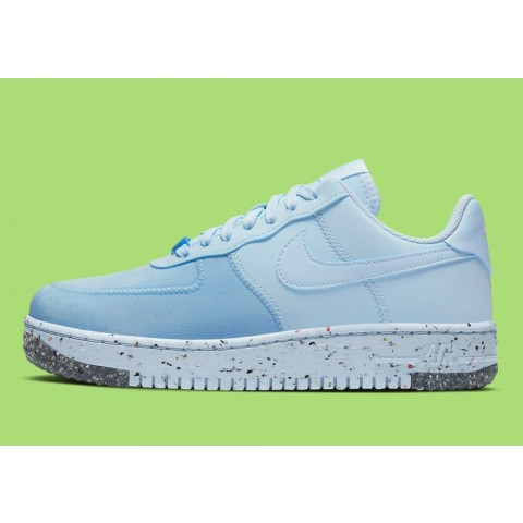 CT1986-400 Nike Air Force 1 Crater Scarpe - Blu/Barely Volt