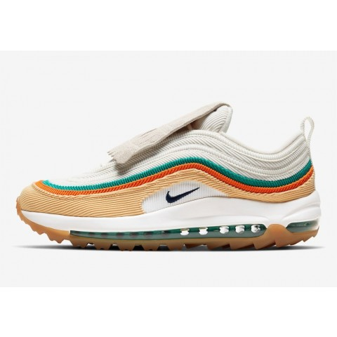 CJ0563-200 Nike Air Max 97 Golf - Oro/Sail/Verdi/Obsidian