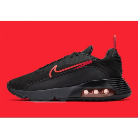 CT1803-002 Nike Air Max 2090 Scarpe - Nere/Anthracite/Bianche/Rosse