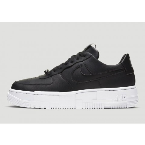 CK6649-001 Nike Air Force 1 Pixel Scarpe - Nere/Nere/Bianche